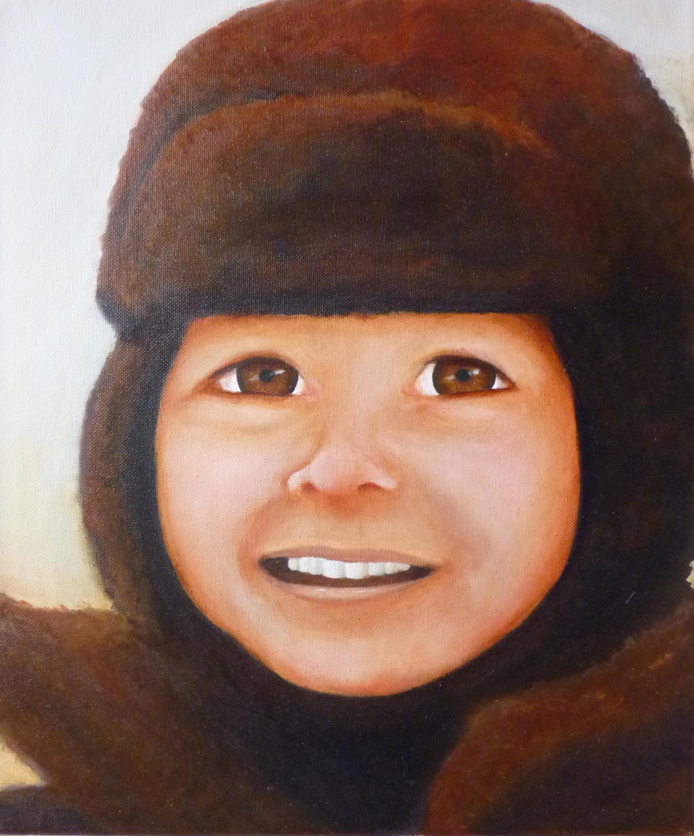 Magali Batté Gauthier (M B) - Portrait d'enfant