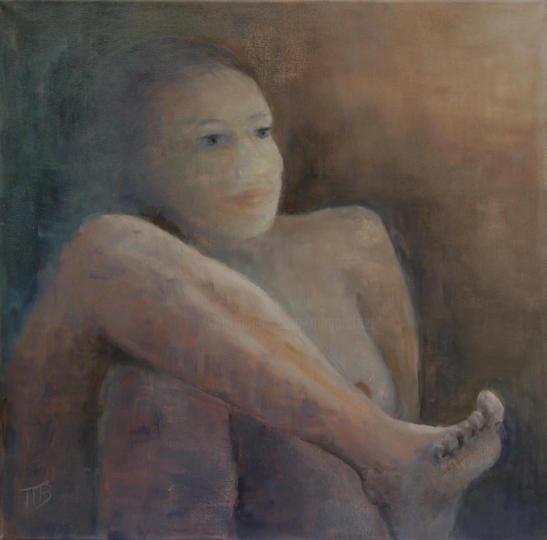 Magali Batté Gauthier (M B) - Derrière le pied