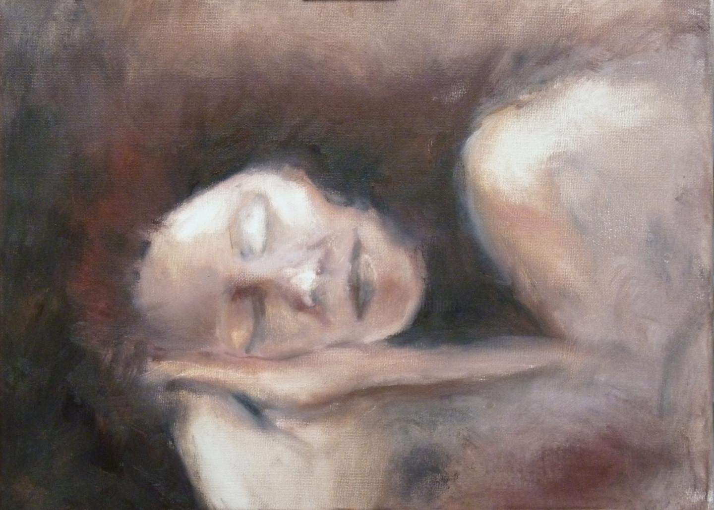 Magali Batté Gauthier (M B) - L'endormie