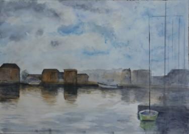 Dieppe, l'avant-port vue sur le Pollet