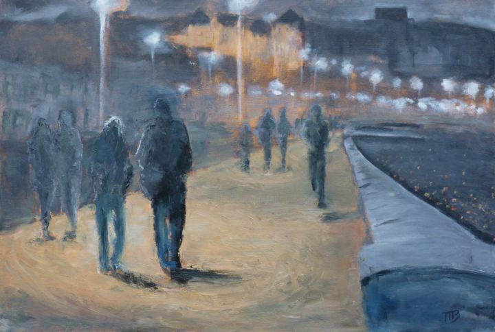 M B - Promenade Nocturne à Dieppe