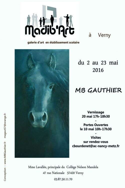 exposition,  magali gauthier,  MB gauthier,  verny,  moselle,  peinture,  toile,  huile